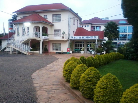 Hotel Horizon : The front view of the hotel