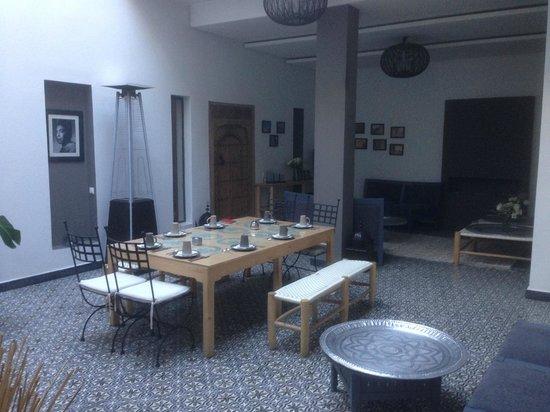 Riad Kasbah 117 Marrakech: L'espace vie