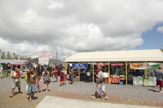 Maku'u Farmer's Market: 会場内