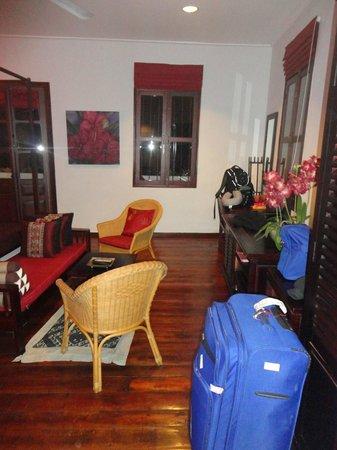 Villa Nagara: The suite room windows
