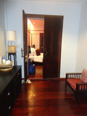 Villa Nagara: First room leading into the bedroom