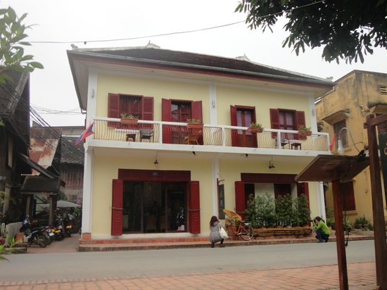 Villa Nagara: Front of the hotel