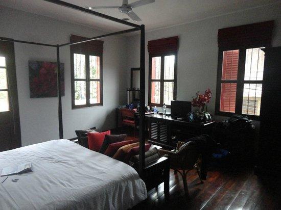 Villa Nagara: The suite