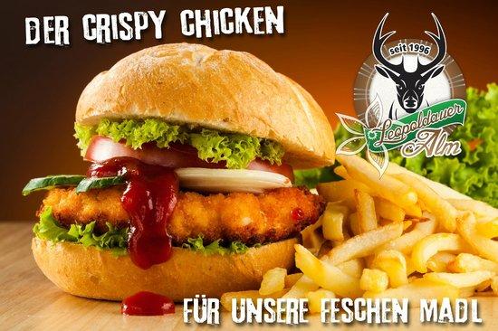 XXL Restaurant Leopoldauer Alm: Crispy Chicken