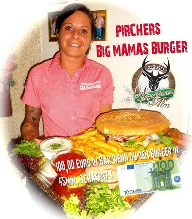 XXL Restaurant Leopoldauer Alm: XXL Burger