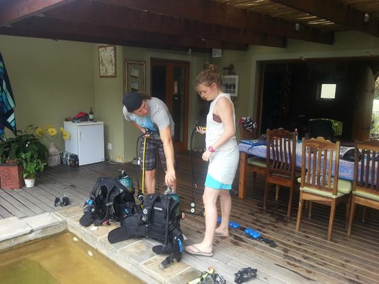 Neptune's Divers Hermanus: Putting your kit together