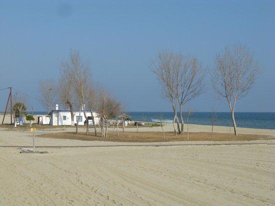 Mediterranean Village Hotel & Spa: Пляж.