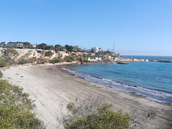 Playa de la Zenia: cabo roig beach and marina