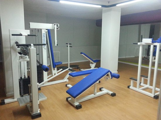 Checkin Bungalows Atlantida: Gym
