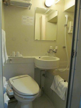 Super Hotel Lohas Ikebukuro-Eki Kitaguchi : the toilet
