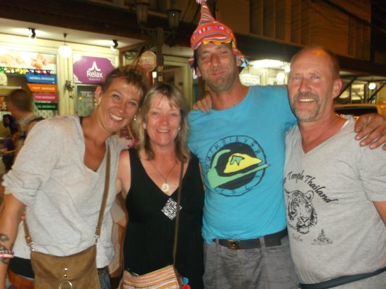 Khao San Road : fun with friends