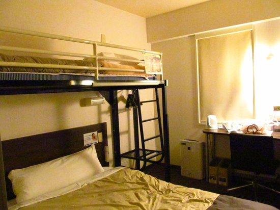 Super Hotel Nanba Nihonbashi: the room for 3 person