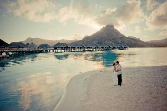 InterContinental Bora Bora Resort & Thalasso Spa : wedding in paradise