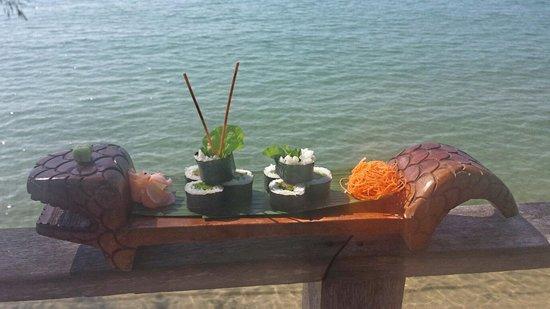 Nikki Beach Koh Samui: sushi on the sea