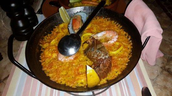 Al Hambra: Seafood Paella