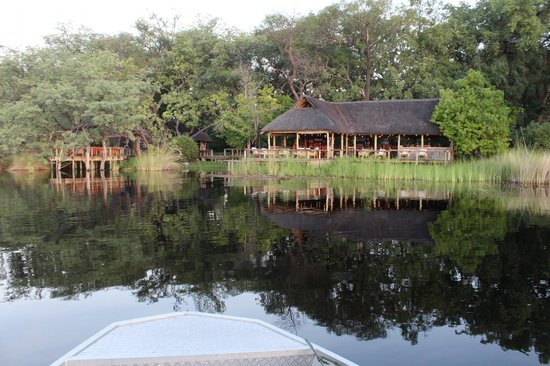Camp Xakanaxa : View from the water