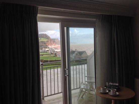 Sidmouth Harbour Hotel - The Westcliff: View from our window