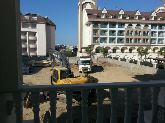 Dream World Resort: View from room (going to be swimming pool for another hotel)