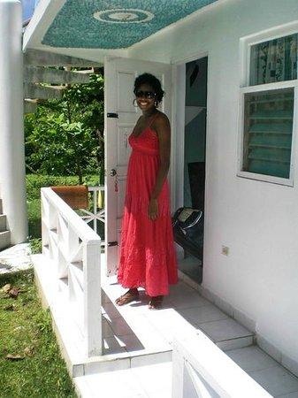 Mi Yard Resort: Room Varandah
