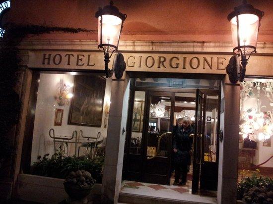 Hotel Giorgione: Eingangsbereich