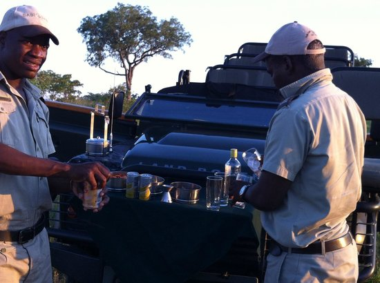 Sabi Sabi Selati Camp: Sundowners