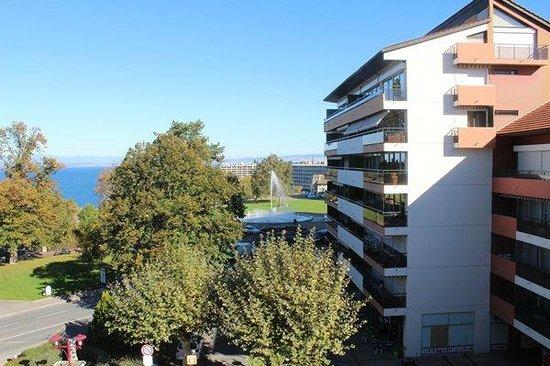 vue quartier - Picture of Residence la Renovation, Thonon-les-Bains ...