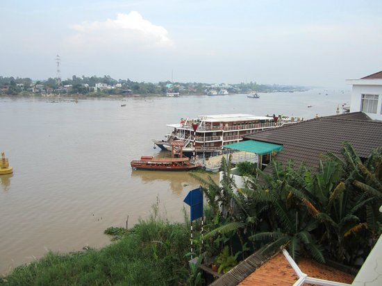 Victoria Chau Doc Hotel: Blick vom Zimmer
