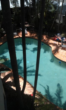 The Emerald Resort Noosa: pool looks better than the shots on their website