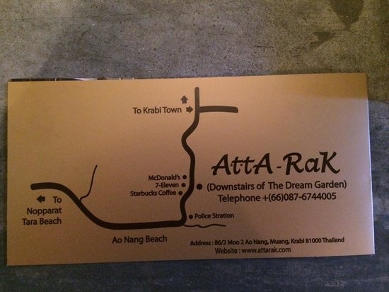 Let's Sea : Let's Relax: Atta Rak is the name you'll see from the street