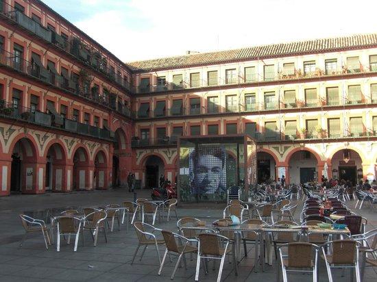Plaza de la Corredera : Rincon de la plaza