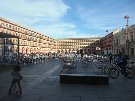 Plaza de la Corredera: Vista entera de la plaza