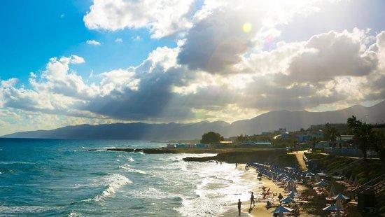 Star Beach Village: Вид на пляж отеля