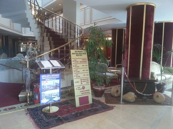 Best Western Antea Palace Hotel & Spa: Reception