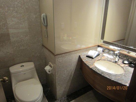 Hotel Sintra: 洗面所