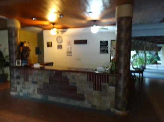Hotel Villas Kin-Ha: Réception