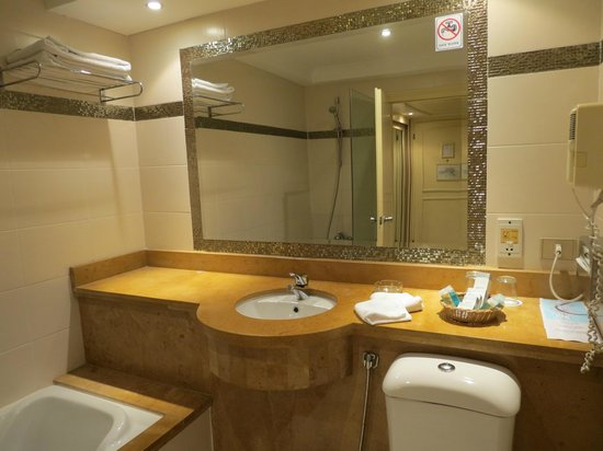 Cairo Pyramids Hotel : Hotel bathroom