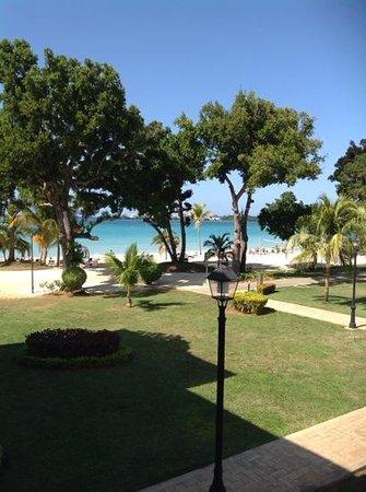 Hotel Riu Palace Tropical Bay : vy från vår balkong