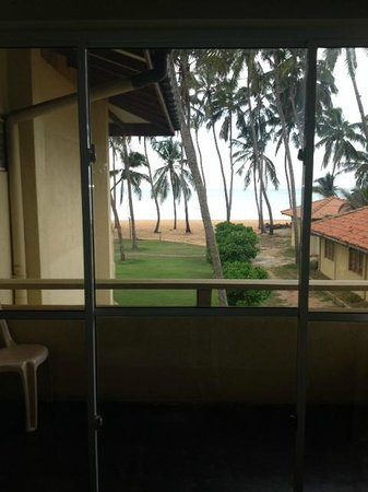 Sanmali Beach Hotel: View from the balcomy