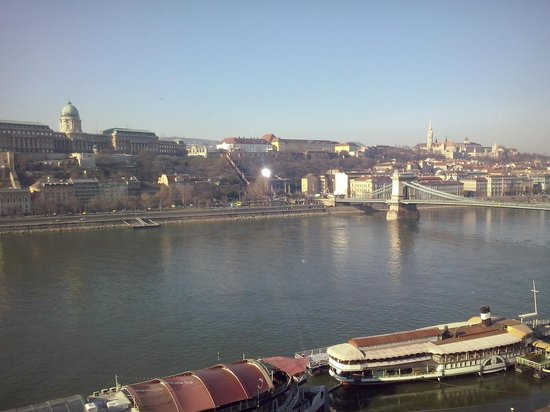 InterContinental Budapest : the view from the room