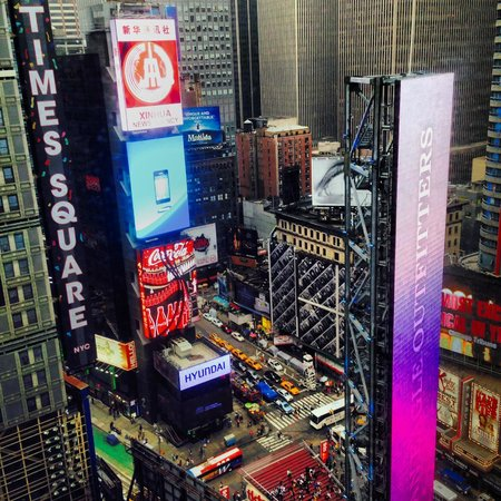... quarto_42 andar - Picture of New York Marriott Marquis, New York City