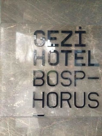 Gezi Hotel Bosphorus: Hotel Name