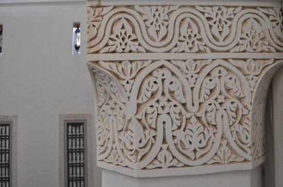 Riad Ariha : Terrasse im Innenhof