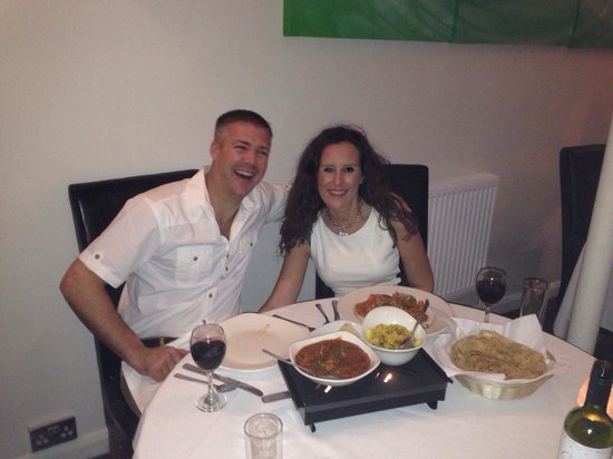 Mint Leaf Indian Brasserie : Lovely restaurant, lovely food!