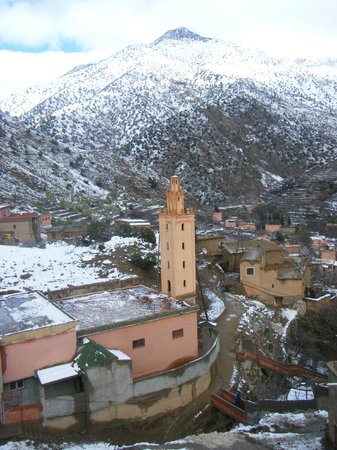High Atlas Tours - Day Tours: View from the terrace