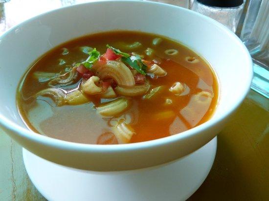 sopa de coditos picture of los sanchez homemade mexican food