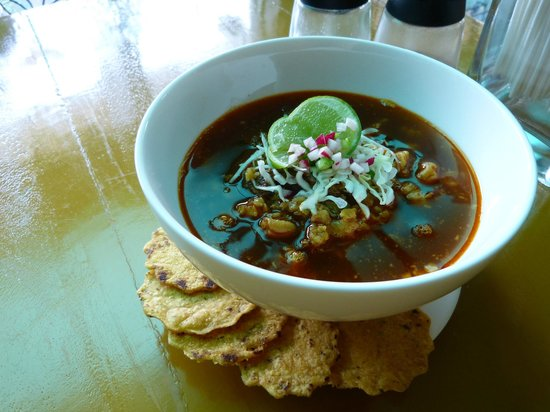 Los Sanchez Homemade Mexican food: Pozole de Puerco