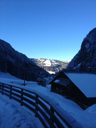 Chalet Aconites: Not a bad view from the breakfast table.....