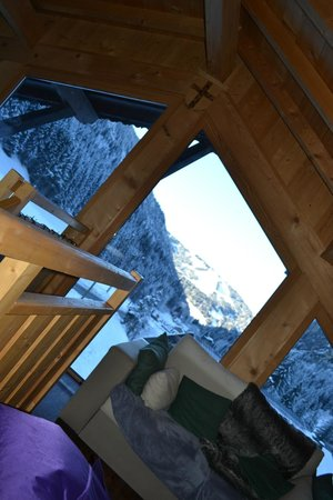 Chalet Aconites: View from Mezzanine