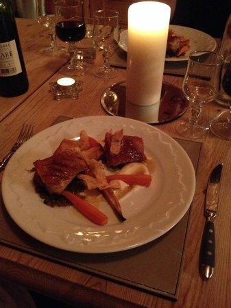 Chalet Aconites: The best belly pork we've ever had!