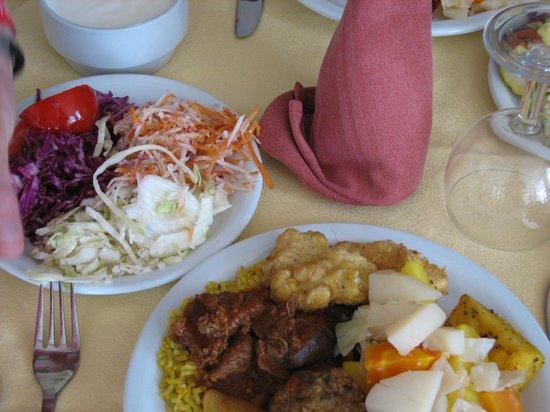 Ramada Liberty Resort Hotel: Obiad
